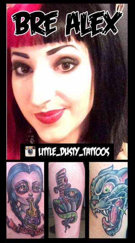 bre alex tattoo artist