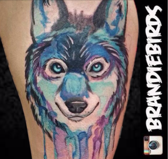 wolfwatercolor
