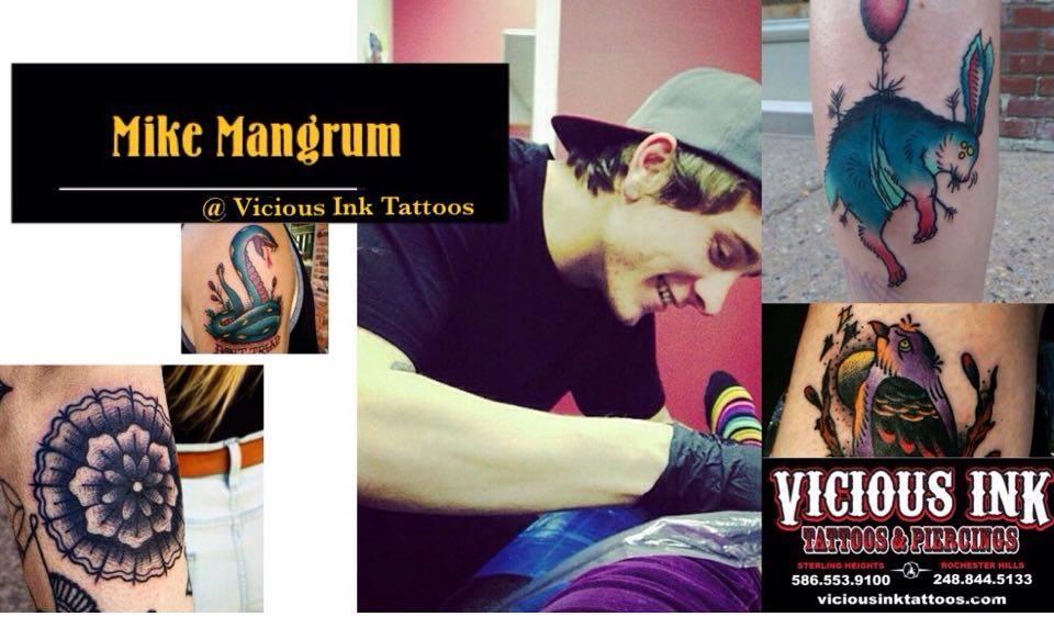 NEW ARTIST MIKE MANGRUM!!!