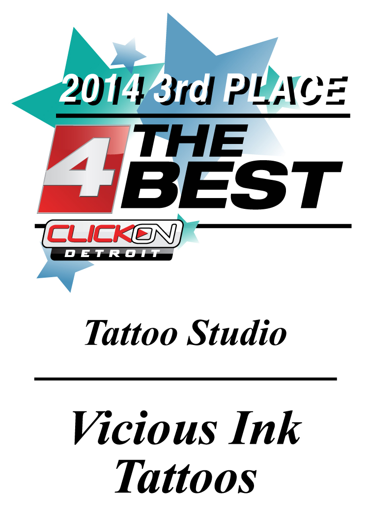 Vicious Ink Plaques v2 2014 3rd