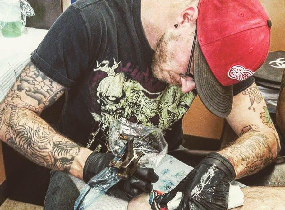 New Tattoo Artist Jesse Robinson at our Sterling Heights location!